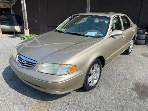 2001 Mazda 626 for sale at TNT Auto Sales in Bangor PA