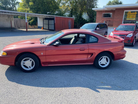 1996 Ford Mustang for sale at Lewis Used Cars in Elizabethton TN
