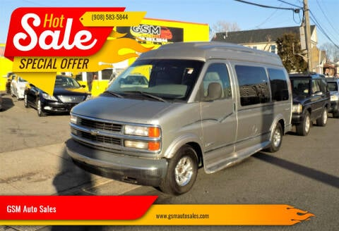 2000 Chevrolet Express Cargo for sale at GSM Auto Sales in Linden NJ