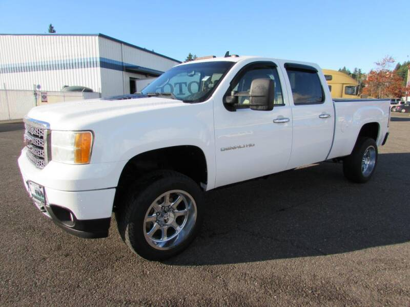 2012 GMC Sierra 2500HD for sale at 101 Budget Auto Sales in Coos Bay OR