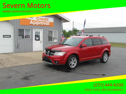 2012 Dodge Journey for sale at Severn Motors in Cadillac MI