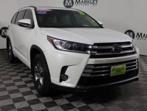 2017 Toyota Highlander for sale at Markley Motors in Fort Collins CO