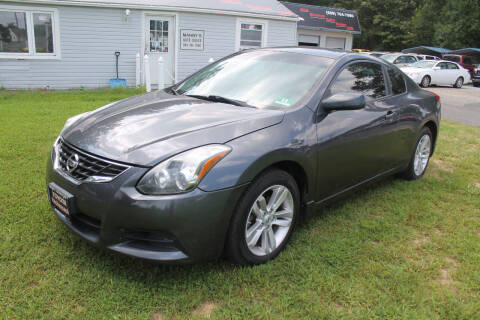 2012 Nissan Altima for sale at Manny's Auto Sales in Winslow NJ