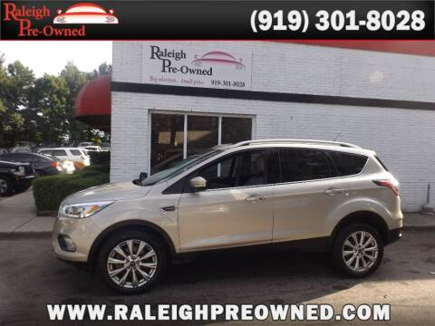 2017 Ford Escape for sale at Raleigh Pre-Owned in Raleigh NC