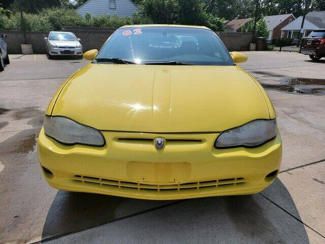 2002 Chevrolet Monte Carlo for sale at Great Ways Auto Finance in Redford MI