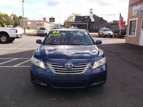 2009 Toyota Camry Hybrid for sale at Sharp Auto Center in Worcester MA