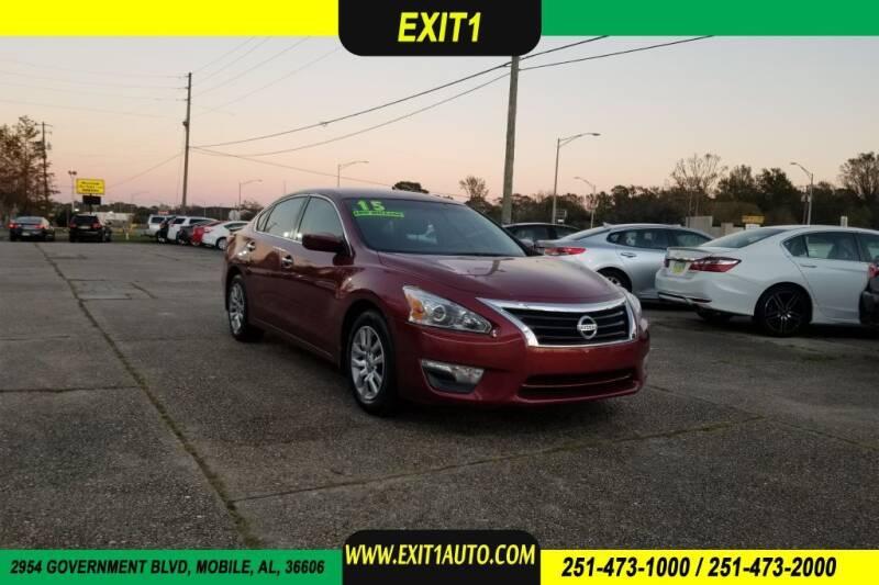 2015 Nissan Altima for sale at Exit 1 Auto in Mobile AL