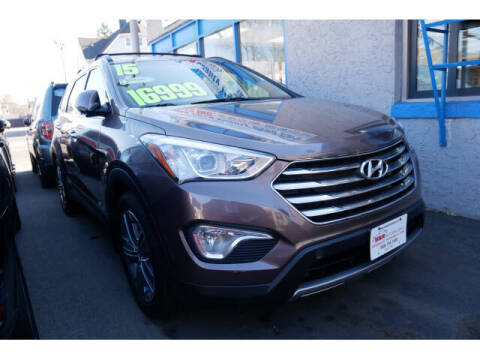 2015 Hyundai Santa Fe for sale at M & R Auto Sales INC. in North Plainfield NJ