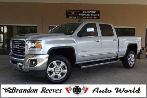 2019 GMC Sierra 2500HD for sale at Brandon Reeves Auto World in Monroe NC