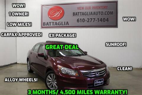 2012 Honda Accord for sale at Battaglia Auto Sales in Plymouth Meeting PA