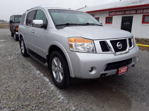2012 Nissan Armada for sale at Sarpy County Motors in Springfield NE
