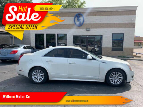 2010 Cadillac CTS for sale at Wilborn Motor Co in Fort Worth TX