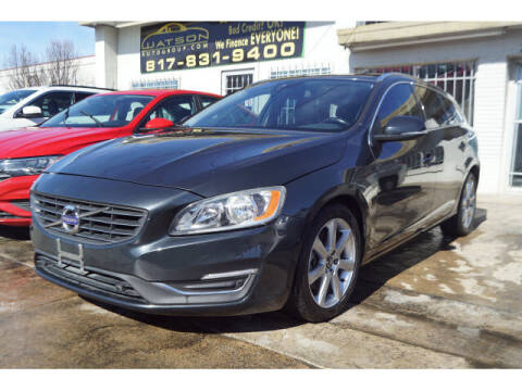 2016 Volvo V60 for sale at Credit Connection Sales in Fort Worth TX