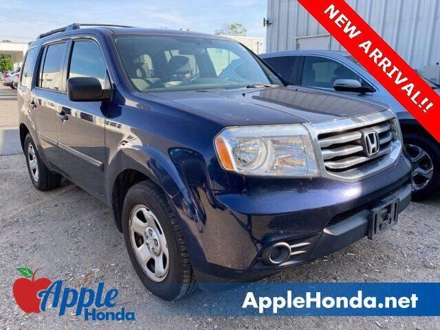 2014 Honda Pilot for sale at APPLE HONDA in Riverhead NY
