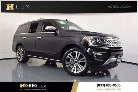 2020 Ford Expedition for sale at HGREG LUX EXCLUSIVE MOTORCARS in Pompano Beach FL