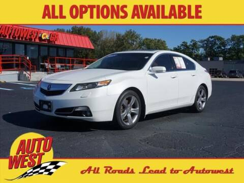 2013 Acura TL for sale at Autowest of GR in Grand Rapids MI