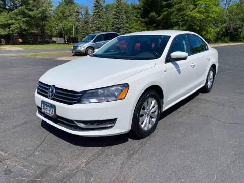 2014 Volkswagen Passat for sale at Northstar Auto Sales LLC in Ham Lake MN