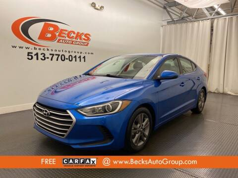 2017 Hyundai Elantra for sale at Becks Auto Group in Mason OH