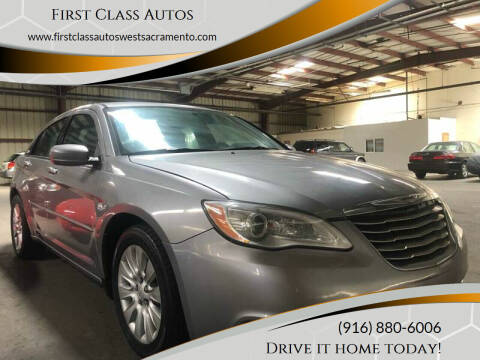 2013 Chrysler 200 for sale at Car Source Center in West Sacramento CA