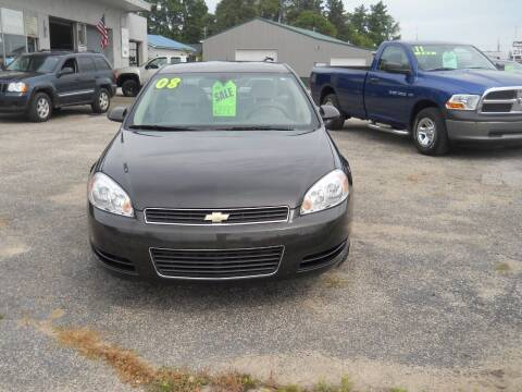 2008 Chevrolet Impala for sale at Shaw Motor Sales in Kalkaska MI