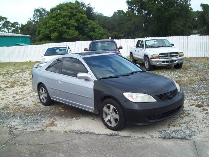 2004 Honda Civic for sale at LONGSTREET AUTO in St Augustine FL