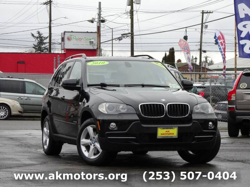 2010 BMW X5 for sale at AK Motors in Tacoma WA