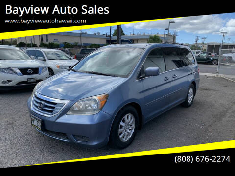 2009 Honda Odyssey for sale at Bayview Auto Sales in Waipahu HI