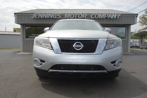 2016 Nissan Pathfinder for sale at Jennings Motor Company in West Columbia SC