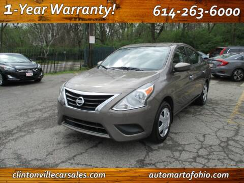 2017 Nissan Versa for sale at Clintonville Car Sales - AutoMart of Ohio in Columbus OH
