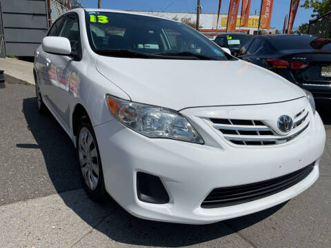 2013 Toyota Corolla for sale at TOP SHELF AUTOMOTIVE in Newark NJ