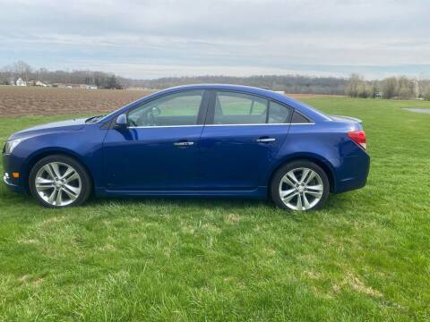 2012 Chevrolet Cruze for sale at Wendell Greene Motors Inc in Hamilton OH