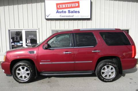 2007 Cadillac Escalade for sale at Certified Auto Sales in Des Moines IA
