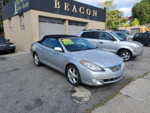 2006 Toyota Camry Solara for sale at Beacon Auto Sales Inc in Worcester MA