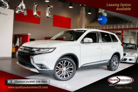 2016 Mitsubishi Outlander for sale at Quality Auto Center in Springfield NJ