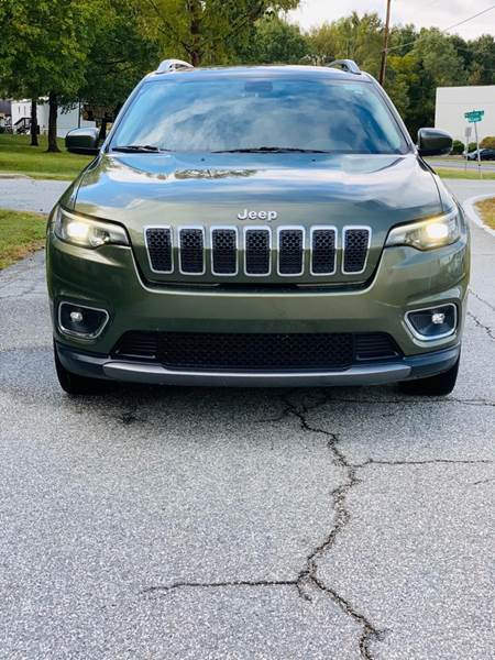 2019 Jeep Cherokee for sale at Speed Auto Mall in Greensboro NC