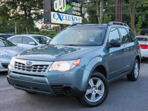 2012 Subaru Forester for sale at EXCLUSIVE MOTORS in Virginia Beach VA