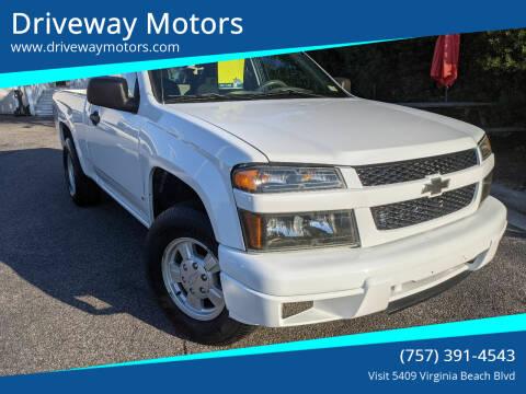 2006 Chevrolet Colorado for sale at Driveway Motors in Virginia Beach VA