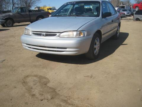 2000 Toyota Corolla for sale at CARZ R US 1 in Armington IL