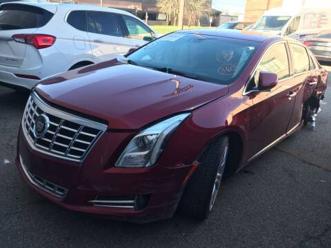 2013 Cadillac XTS for sale at ALL TEAM AUTO in Las Vegas NV