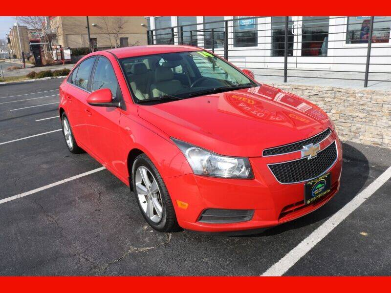 2014 Chevrolet Cruze for sale at AUTO POINT USED CARS in Rosedale MD