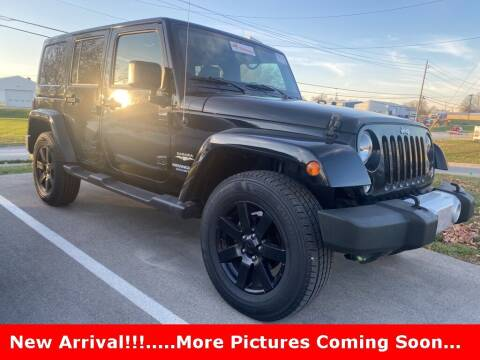 2015 Jeep Wrangler Unlimited for sale at Coast to Coast Imports in Fishers IN