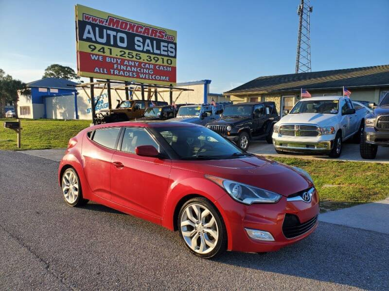 2013 Hyundai Veloster for sale at Mox Motors in Port Charlotte FL