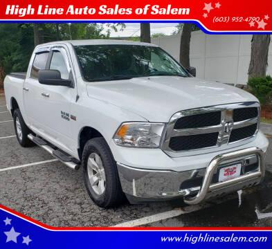 2017 RAM Ram Pickup 1500 for sale at High Line Auto Sales of Salem in Salem NH