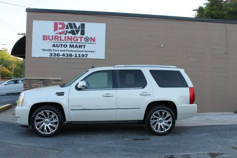 2010 Cadillac Escalade for sale at Burlington Auto Mart in Burlington NC