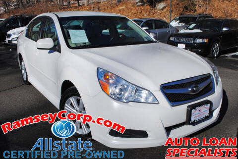 2012 Subaru Legacy for sale at Ramsey Corp. in West Milford NJ