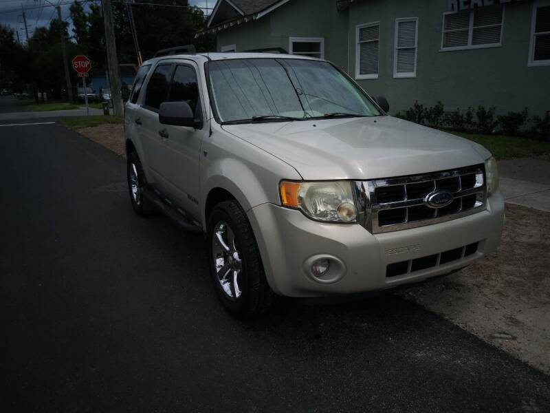 2008 Ford Escape for sale at D & D Detail Experts / Cars R Us in New Smyrna Beach FL