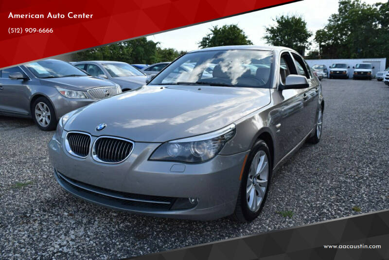 2010 BMW 5 Series for sale at American Auto Center in Austin TX