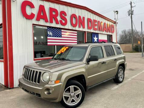 2007 Jeep Patriot for sale at Cars On Demand 3 in Pasadena TX