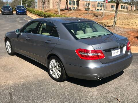 2012 Mercedes-Benz E-Class for sale at Weaver Motorsports Inc in Cary NC