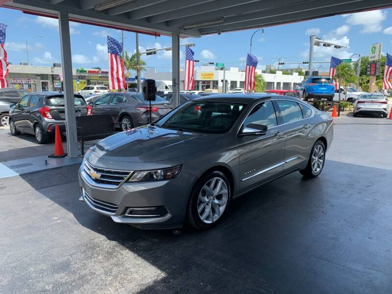 2019 Chevrolet Impala for sale at American Auto Sales in Hialeah FL